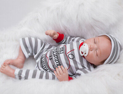 20inch Realistic Lifelike Reborn Baby Dolls Real Touch Newborn Cute Toddler Gift
