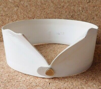 Rocola Whitehaven wing collar 16 vintage antique 2-inch tall starched detachable