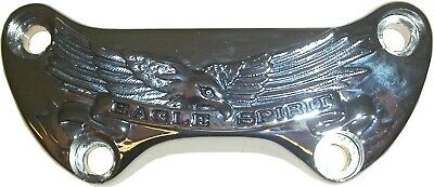 Handlebar Clamp Harley with Eagle Spirit Banner