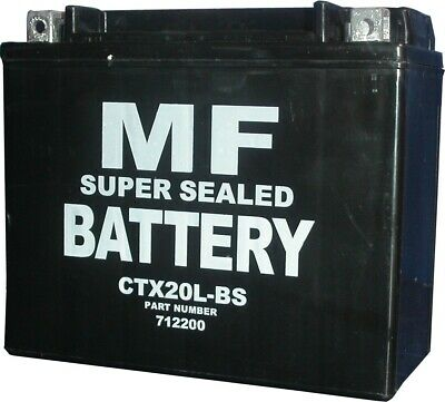 Battery (Conventional) For 2009 Victory Kingpin (1634cc) NO ACID