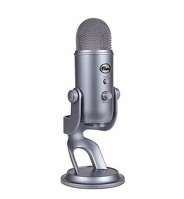 NEW! Blue Microphones Yeti USB Microphone - Space Grey