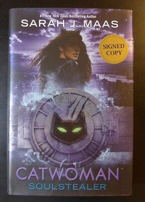 """Sarah J Maas  ✎Autographed✎  """"Catwoman - Soulstealer""""  New Signed Book  2018"""
