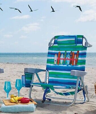 Marvelous 2 X Tommy Bahama Backpack Folding Beach Chair 5 Positions Pabps2019 Chair Design Images Pabps2019Com