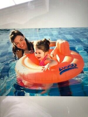 Zoggs Inflatable Swimming Trainer Seat 3-12 Months