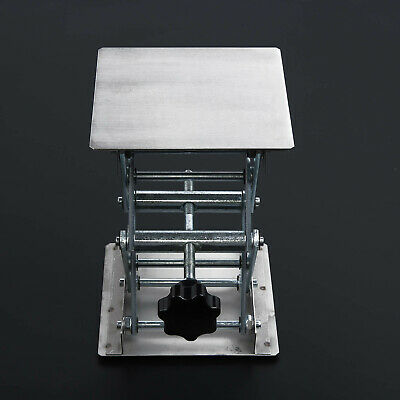 New Stainless-Steel Router 45~150mm Lifting Lab Platform For Router Bench Table