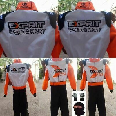 Exprit Kart Racing Suit CIK-FIA Level 2 + Free Gift