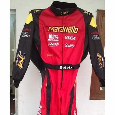 Maranello Kart Racing Suit extreme Quality with custom name embroidery