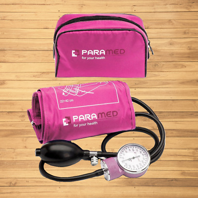 Professional Manual Blood Pressure Cuff – Aneroid Sphygmomanometer with Durable