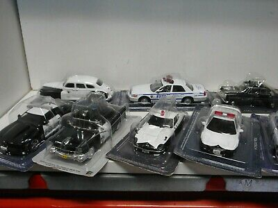 Police Cars World Ford Jaguar Honda Datsun Chevrolet Chrysler 1:43