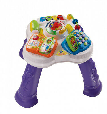 VTech Baby Play and Learn Activity Table - Multi-Coloured Purple
