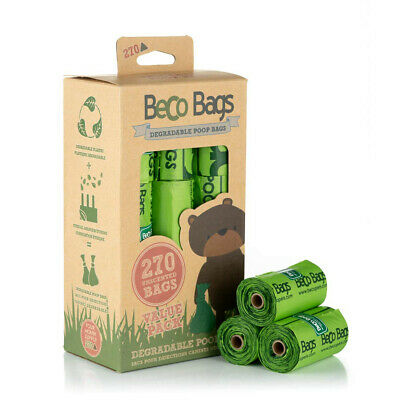 Beco Bags - Value Pack - 270 Strong 18 Rolls (270 bags), Green