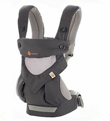New Ergo 360 Four Position breathable carrier Dusty gray New w box