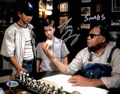 Tom Guiry The Sandlot Authentic Signed 8x10 Photo w/James Earl Jones BAS Witness