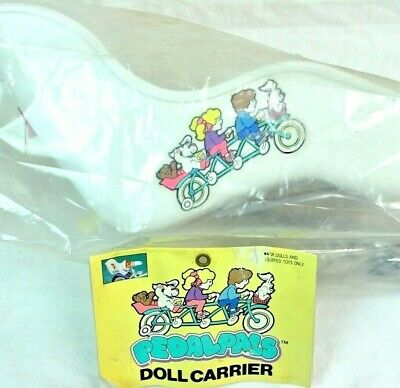 Pedal Pals Vintage Doll Carrier Seat For Childs Bike Mount Toy 1980s Taiwan NOS