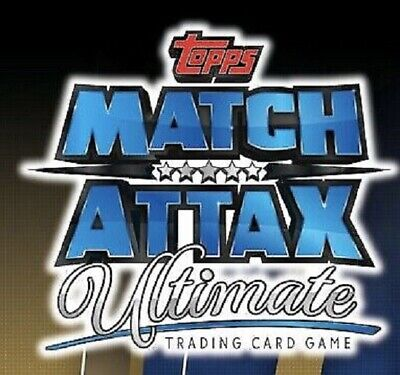 Match Attax Ultimate  2018/2019  18/19 Sketch  Cards  131  To 150 Choose  Topps