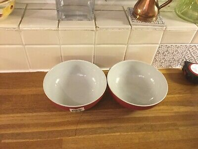 Denby Everyday Salsa Cereal Bowls X2 Brand New