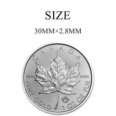 2019 Maple Leaf $5 Canada Once Argent Pur Ounce Oz Silver  Dollars