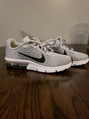 Details about Girls Boys Juniors NIKE AIR MAX SEQUENT 2 GS Running Trainers 869993 006