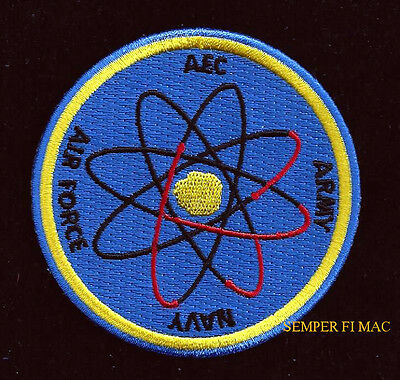 JTF-7 Joint Task Force 7 AEC Atomic Energy Commission Patch ATOMIC H BOMB TEST