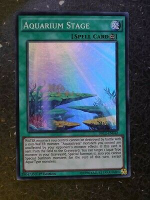 Aquarium Stage Super Rare 1st Edition Yugioh Card DRL2-EN042