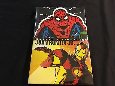 Marvel Visionaries John Romita Jr Factory Sealed Hardcover Spider-Man X-Men Hulk