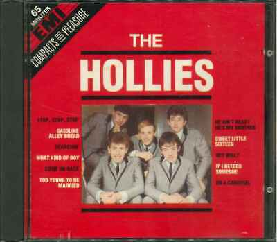 """THE HOLLIES """"EMI Compacts For Pleasure"""" Best Of CD"""