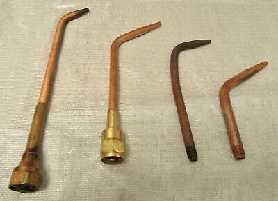 Victor & Harris Acetylene Gas Tips ( Lot of 7)