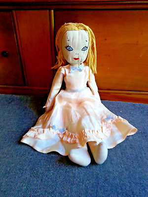 Antique Vintage Hand Made Rag Doll Very Good Condition from Smoke free house