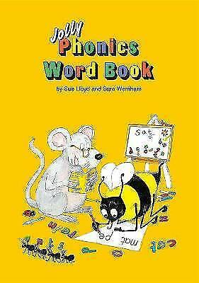 Jolly Phonics Word Book: in Precursive Letters.  By Lloyd, Sue. Paperback.