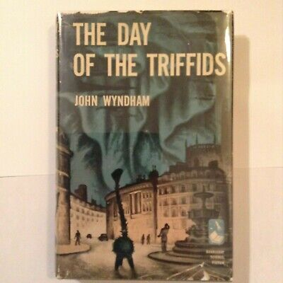 The Day Of The Triffids -- John Wyndham -- Early Bce Copy W/Orig Dj -- Nf/Vg
