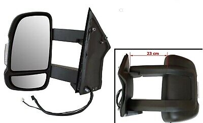 Exterior Mirror Left Long Arm Version Manual Motorhome for Fiat Ductao III 2006