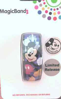 Disney Parks Mickey Mouse 2019 Passholder Limited Release Magic Band 2 WDW NEW