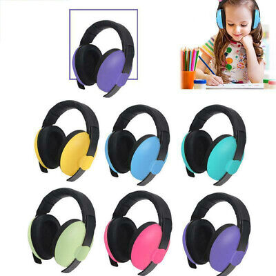 Baby Kids Folding Ear Defenders Muffs Noise Reduction Plug Protectors Children