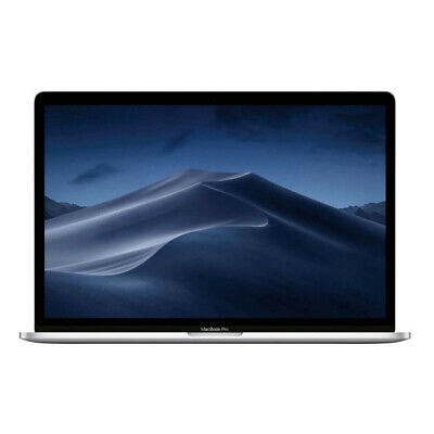 """Apple Macbook Pro 15.4"""" 2019 2.6Ghz with Touch Bar 256GB - Silver"""