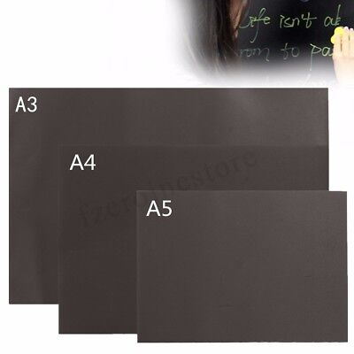 A3 A4 A5 Blackboard Magnetic Small Or Large Office Notice Menu Chalk Board New