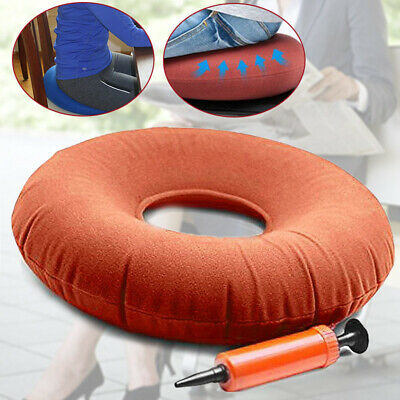 Unisex Inflatable Rubber Ring Round Seat Cushion Medical Hemorrhoid Pillows