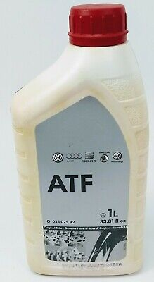 1 Litre Bottle Of New Genuine Vw Audi Atf Automatic Gearbox Oil Fluid G055025A2