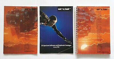 ZX Spectrum Instruction Manuals And Software And Peripherals Catalogue