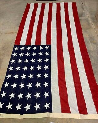 Original Large 48 Star US Flag