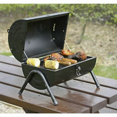 BBQ Grill Charcoal Garden Portable Barbecue Outdoor Camping with Handle