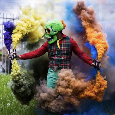 Colorful Smoke Effect Round Bomb Stage Photography Wedding Party Smoke Show Prop