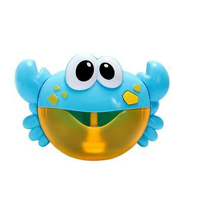 Crab&Frog Automatic Bubble Machine Musical Bubble Maker Baby Bath Shower Toys