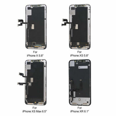 OLED LCD Display Touch Screen Digitizer Replacement For iPhone X XR XS XS MAX