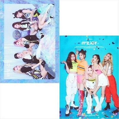 ITZY Album IT'Z ICY CD+POSTER+Photo Book+1st Page+2p Card+Pre-Order benefit SEAL