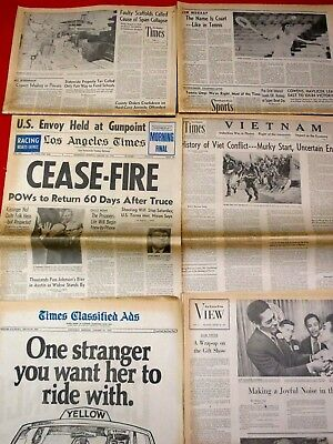 Jan. 1973 Cease-Fire / Vietnam Section, Sports / Peace 1973 /Complete Sections