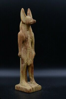 Vintage Anubis hand carving hammer Stone unique statue - made in egypt
