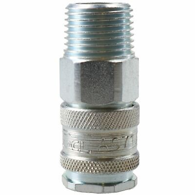"""PCL XF Female Coupling Male 1/2"""" BSP Thread Air Hose Fitting Coupler AC71JM"""