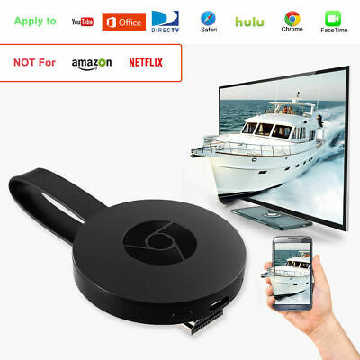 Wireless WiFi Display Dongle 1080P HD Adapter HDMI TV Media Streaming Player DE