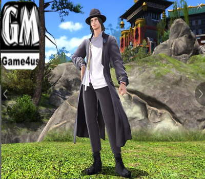 FINAL FANTASY XIV FFXIV FF14 Item Character Far Eastern Officer's Uniform Code