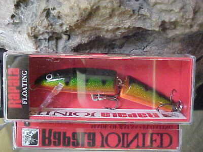 "Rapala 3 1//2/"" Jointed Minnow J9 G in Color GOLD for Bass//Pike//Walleye//Pickerel"